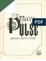 The Maya Pulse - Volume 2, Issue 1