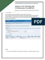 Tax Does Not Calculate in R12 E-Business Tax (EBTAX)