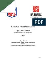 NFL 2010 Drug Policy