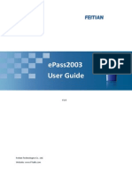 ePass2003 User Guide