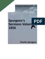 Spurgeon's Sermon Volume 2