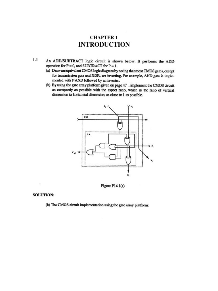 Cmos digital integrated circuits kang solution manual fandeluxe Images