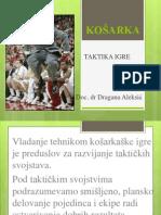 KOŠARKA- TAKTIKA 1
