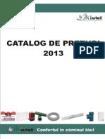 [Catalog de Preturi 2013]