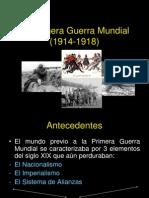 La Primera Guerra Mundial (1914-1918) (1)