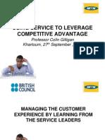 BritishManaging Customer Experience -Prof Colin