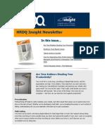 HRDQ Insight Newsletter - October 2013