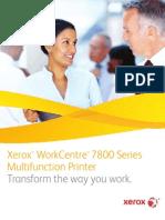 Brochure - WorkCentre 7830/7835/7845/7855