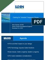 T25 - VFD Cable Guide