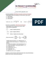 Contoh Project Scheduling Dg CPM1Metode Cpm1