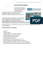 Fiche descriptive - Société Offshore à Ras al Khaimah (ICO Services)