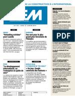 Extrait Bulletin Européen du Moniteur n°1135