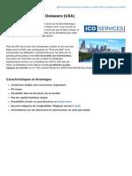 Fiche descriptive - Société Offshore au Delaware (ICO Services)