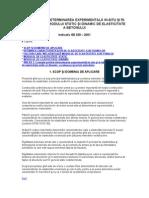 GE 039 – 2001 Ghid privind determinarea experimentală in-situ şi în laborator a modului static şi dinamic de elasticitate a betonului