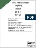 Scheme Dell Inspiron n5110 m5110 Dq15 Wistron Queen 15 Intel Discrete Uma Sandy Bridge