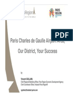 Paris CDG Airport Area - Our District - Your Success _ January2014