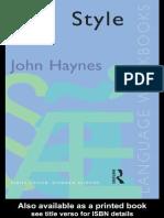 Hynes Style Language