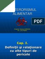 Bioterorismul Alimentar Liviu Rusu - 01.02.2007