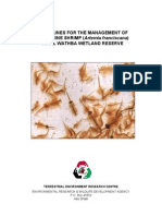 Guidelines for Management of Artemia in Al Wathba