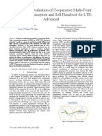 Analysis and Evaluation of Cooperative Multi-Point TransmissionReception and Soft Handover for LTE Advanced
