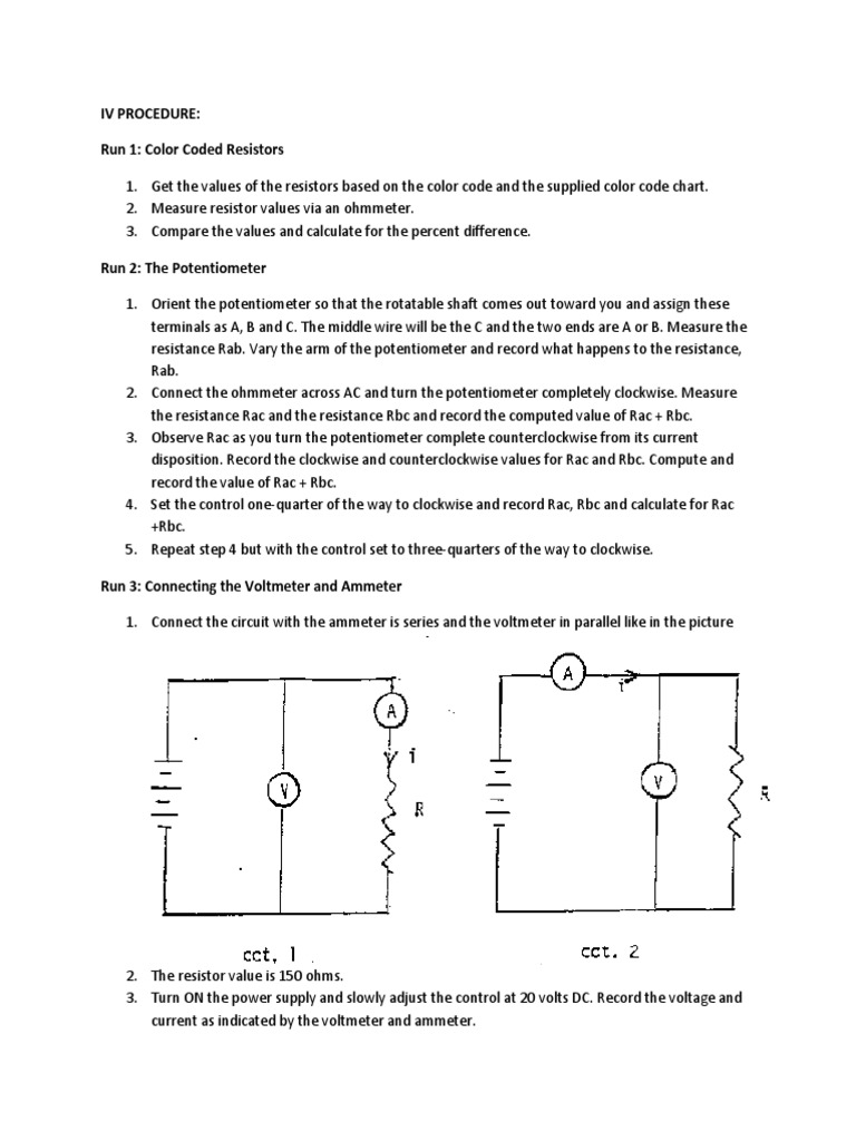 Hi Vince Resistor Electrical Resistance And Conductance Schematic Diagram Indicating The Power Supply Voltmeter Ammeter