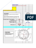 Brake Design and Calculation