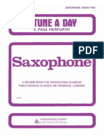 A Tune a Day Saxophone 2