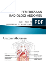 Pemeriksaan Radiologi Abdomen