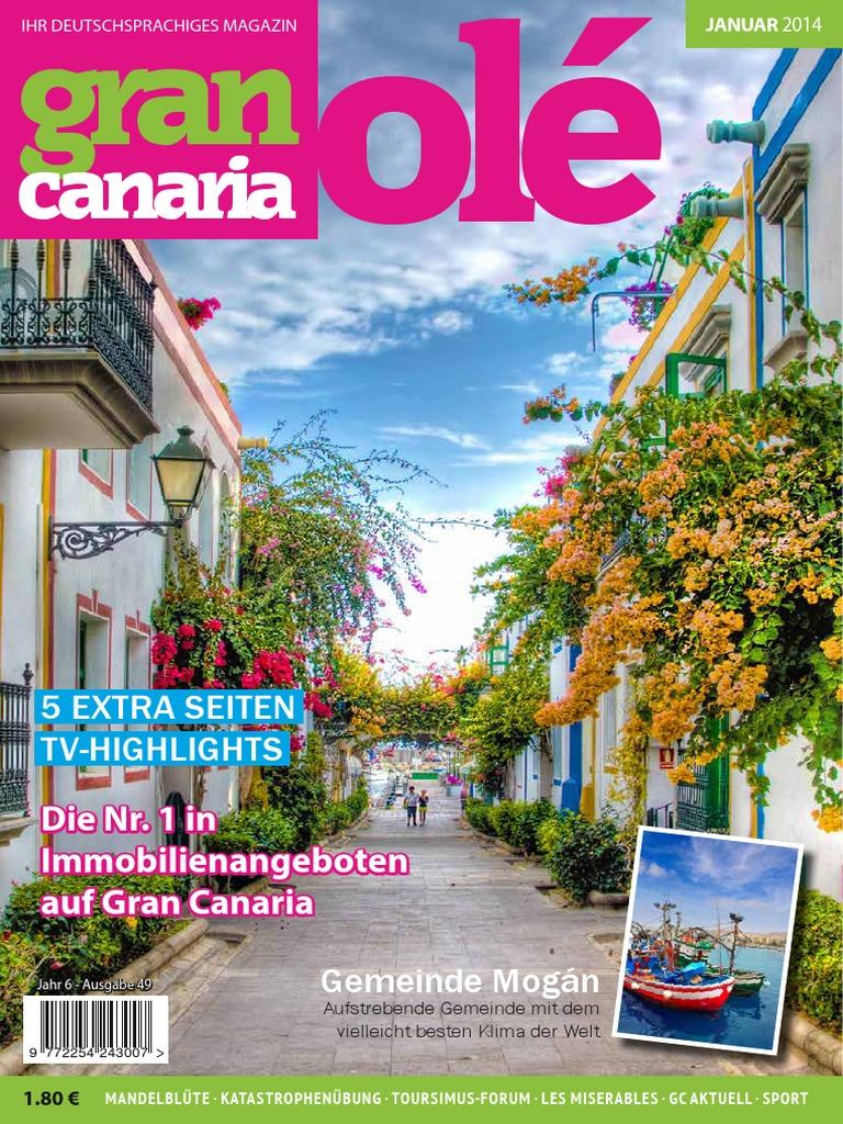 Gran Canaria Ole Ausgabe 49 Tattoo Nature