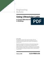 Using Uv Light Eb-clch Prb014 en 021604
