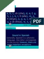 Basic Spanish 1.14 (Pronunciation)-Signed