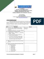 Worksheet Thermochemistry