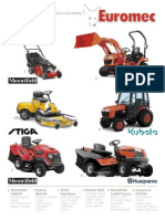 Euromec Contracts 2012 Groundcare Brochure