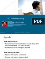 Unified Communications Troubleshooting