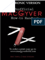 The Unofficial MacGyver How-To Handbook Revised 2nd Edition