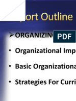 My Report PowerpoiORGANIZING FOR AND EVALUATING CHANGE - Nursing Curriculum Development