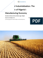 Agricultural Industrialization