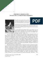 INDIVIDUO Y RESIGNACIÓN Y SUBJETIVIDAD MODERNA