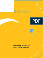 Cuadernillo 1 - Escuela y Sociedad en Transformacion