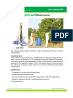 Aspee Maruti Foot Sprayer Mri 8