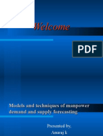 Models and Technique of Mp Demand and Supply Forecasting...by shahid elims