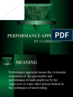 Performance Appraisal...by shahid Elims