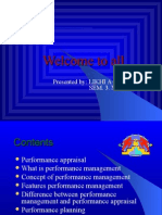 Performance Mgt,Planning and Appraisal..by shahid Elims