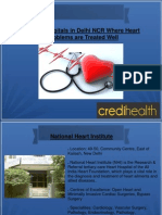 Best Surgery Hospitals in Delhi NCR Where Heart Problems are Treated Well