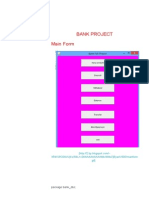 core java bank management project