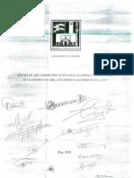 Finance, Plan. & Econ. Dev. Comm. Report on the Anti Money Laundering Bill 2009