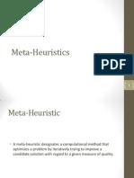 Met a Heuristic s