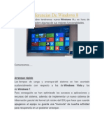 Algunas Diferencias de Windows 8