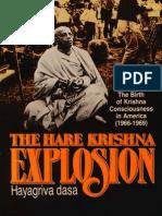 The Hare Krishna Explosion (Hayagriva Das)