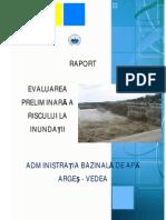 Evaluare Preliminara Risc Inundatii Arges Vedea